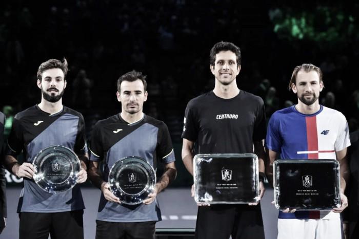 Marcelo Melo supera Dodig/ Granollers e é campeão do Masters 1000 de Paris