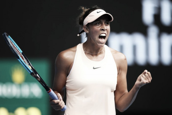 Australian Open: Madison Keys powers past Ana Bogdan