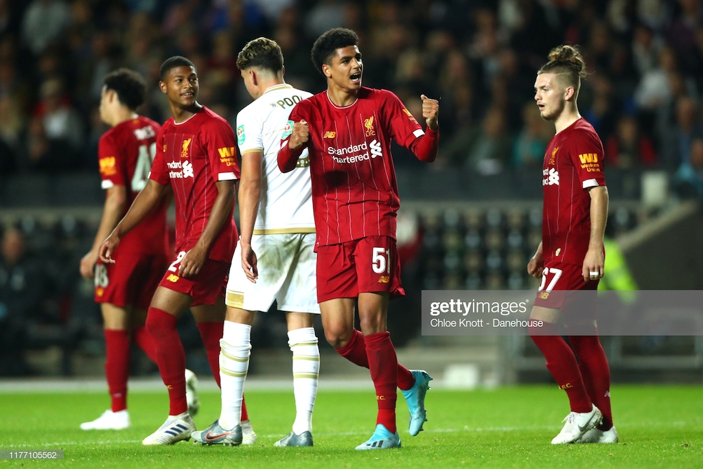 MK Dons 0-2 Liverpool: Youngsters turn on the heat as Reds cruise into fourth-round