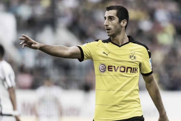 Henrikh Mkhitaryan wants to join Manchester United