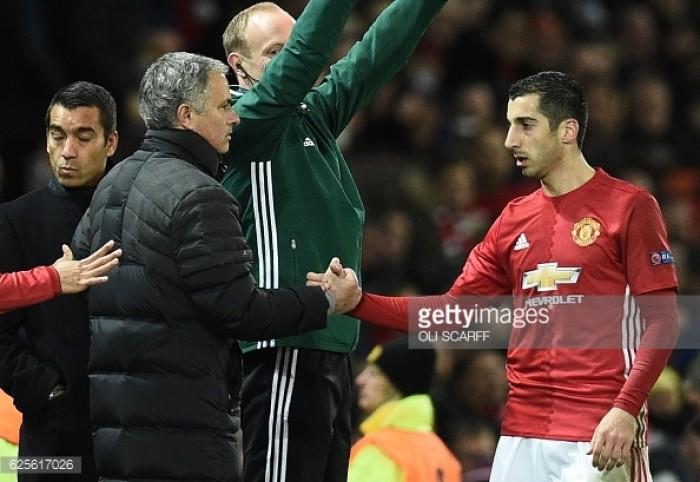United midfielder Henrikh Mkhitaryan's form due to Jose Mourinho, insists Jamie Carragher