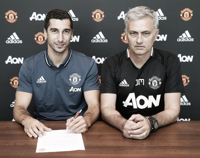 Jose Mourinho says Mkhitaryan will have an instant impact on Manchester United