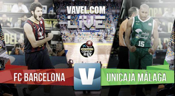 Barcelona vs Unicaja en vivo y en directo online