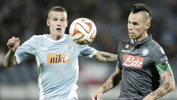 Diretta partita Napoli - Slovan Bratislava, risultati live dell'Europa League