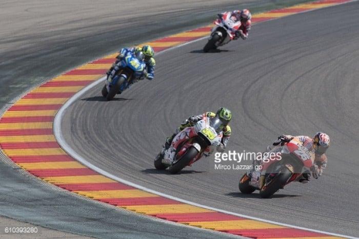 Aragon GP: Crutchlow vs Pedrosa