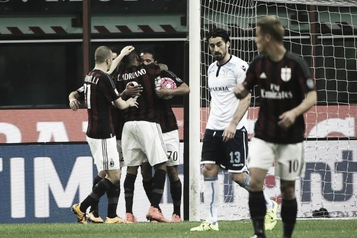 Partita Milan - Lazio in Serie A 2016/17 (2-0): Bacca e Niang regalano il successo ai rossoneri