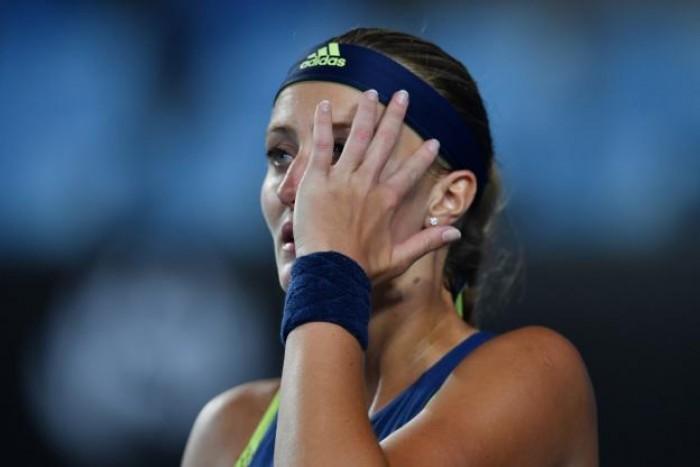 Le journal de l'Australian Open - Day 2 : Mladenovic continue sur sa lancée et enchaîne une 15e défaite d'affilée