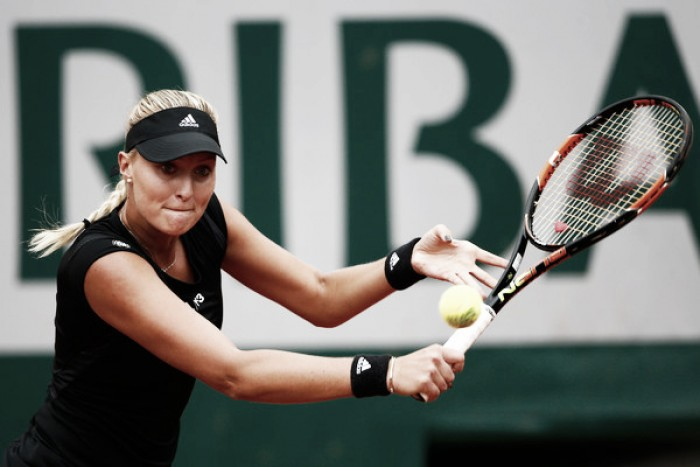 French Open 2016: Kristina Mladenovic cruises past former champion Francesca Schiavone in straight sets