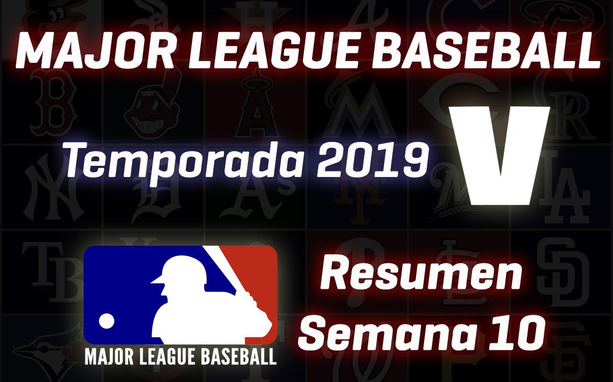 Resumen MLB, temporada 2019: Alfaro y una semana 10 puntos