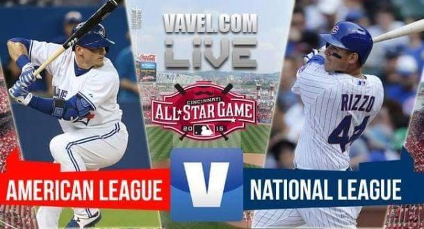 Score 2015 Major League Baseball All-Star Game (6-3)