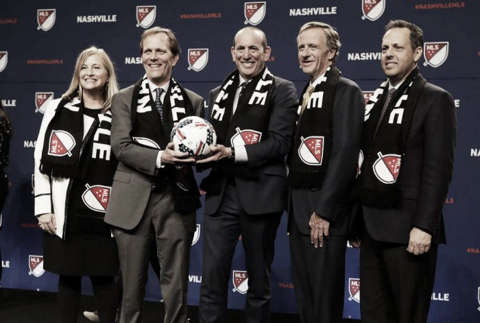 MLS to name Nashville as expansion franchise