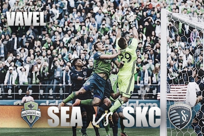 Audi 2016 MLS Cup Playoffs: Red hot Seattle Sounders host Sporting Kansas City