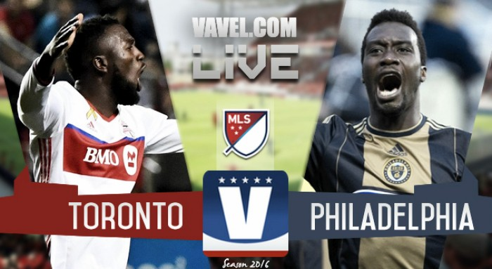 Score Toronto FC vs Philadelphia Union of Audi 2016 MLS Cup Playoffs (3-1)