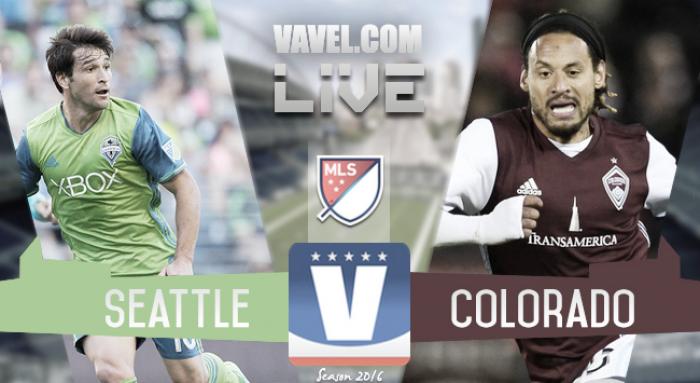 Score Seattle Sounders vs Colorado Rapids in 2016 MLS Playoffs (2-1)