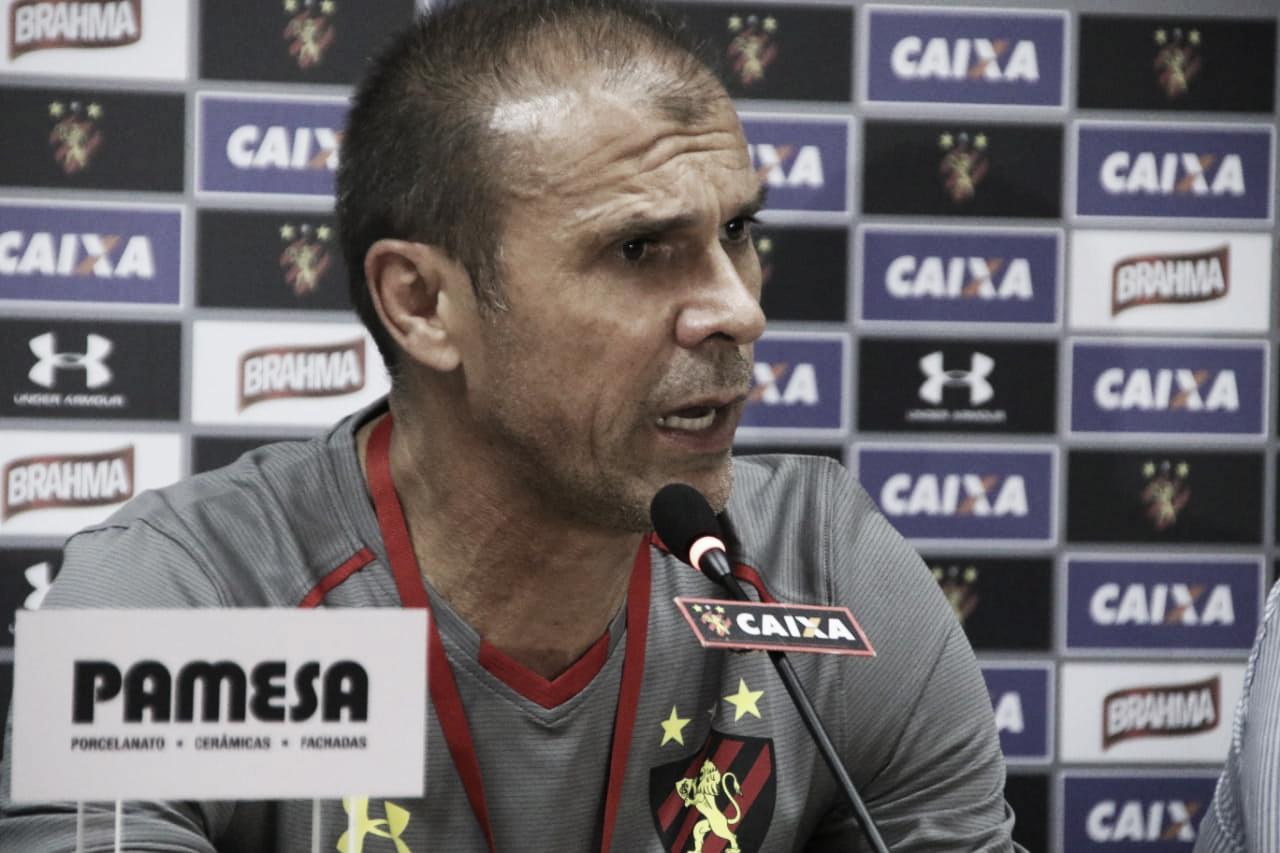 Milton Mendes assume responsabilidade por goleada sofrida pelo Sport