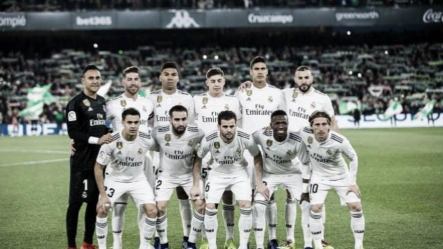 Real Betis- Real Madrid: puntuaciones del Real Madrid, jornada 19 de La Liga 2018