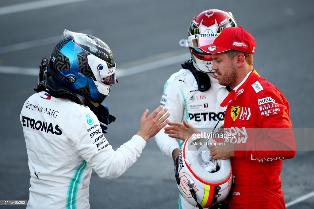 Baku GP 2019: Bottas claims pole in incident packed qualifying