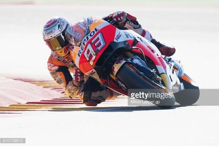 Marquez takes sixth pole of the MotoGP season