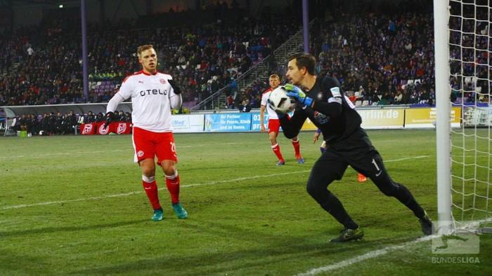 Erzgebirge Aue 0-0 Fortuna Düsseldorf: Two teams give their all but get no goals