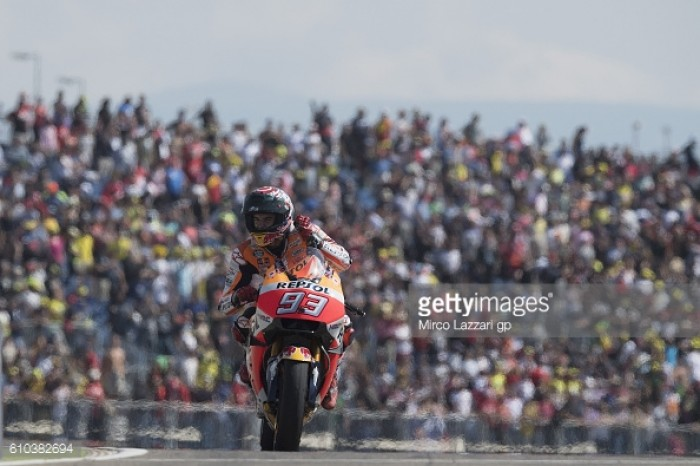 Marquez wins the Gran Premio Movistar de Aragon