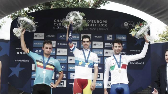 Plumelec 2016, Moreno Moser bronzo a cronometro