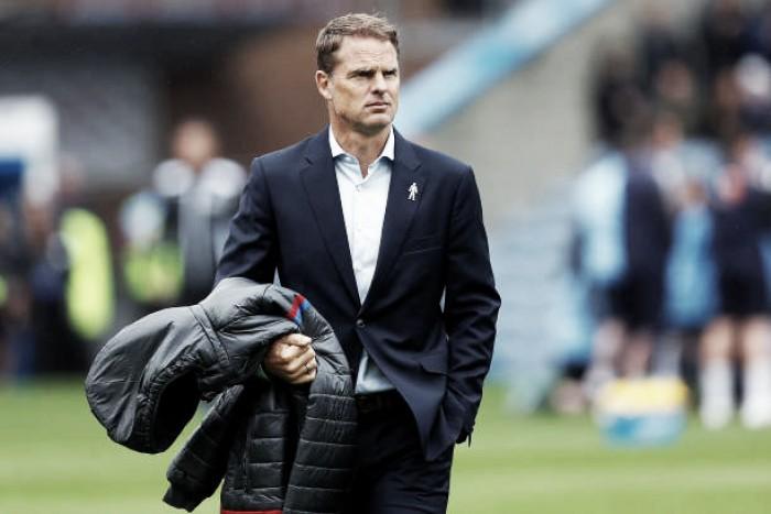Após pior início de um estreante na Premier League, De Boer é demitido do Palace