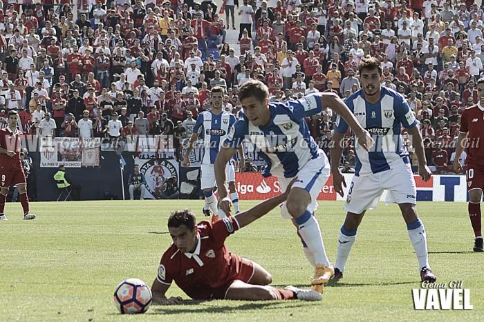 Fotos e imágenes del Leganés 2 - 3 Sevilla, jornada 8 de Liga