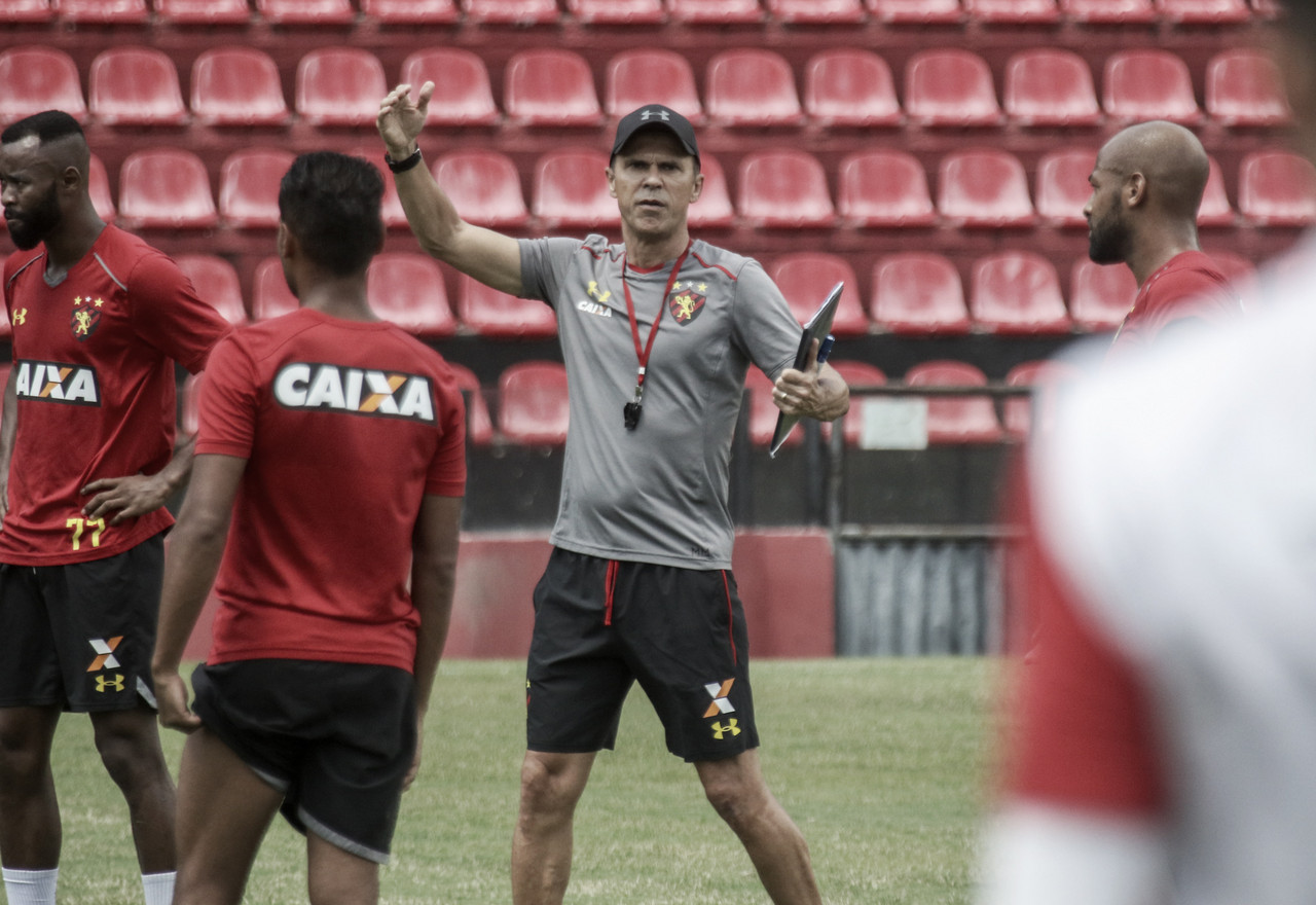 Sport decide realizar treino aberto antes do confronto contra o Santos