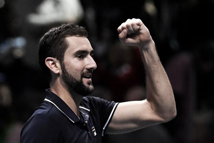 ATP Finals, Cilic saluta battendo Nishikori