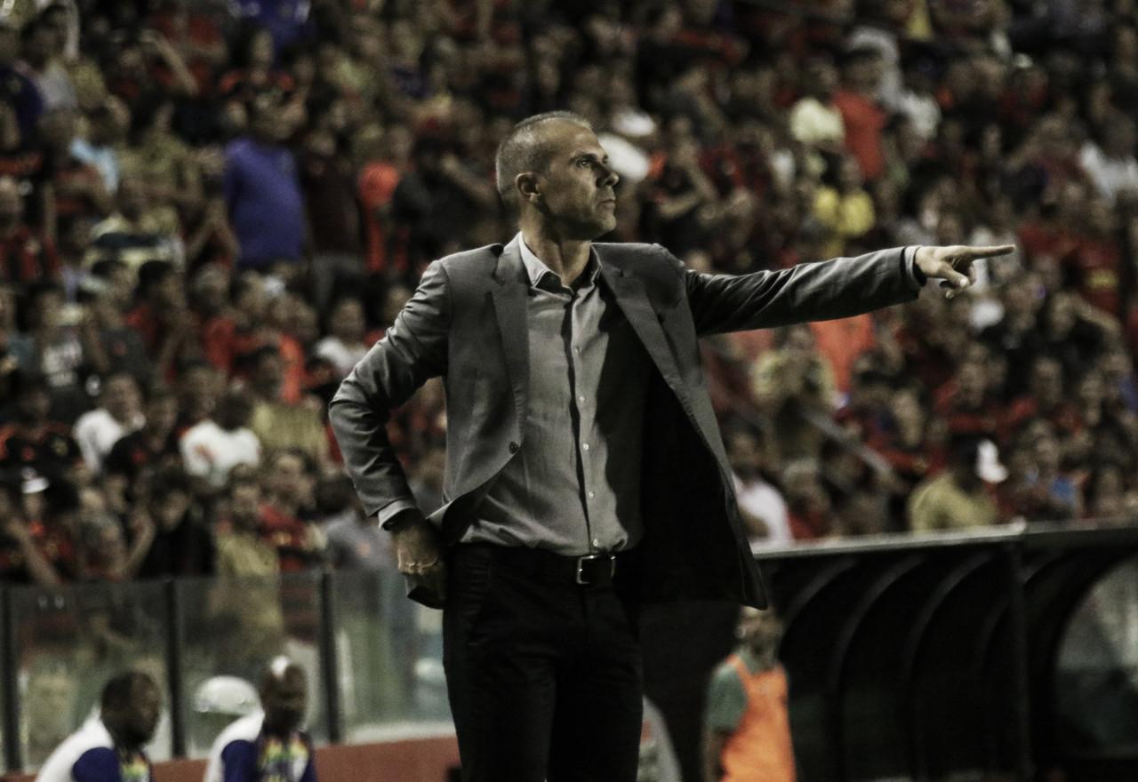 Milton Mendes elogia Sport após vitória, mas lembra: ''A caminhada é árdua''