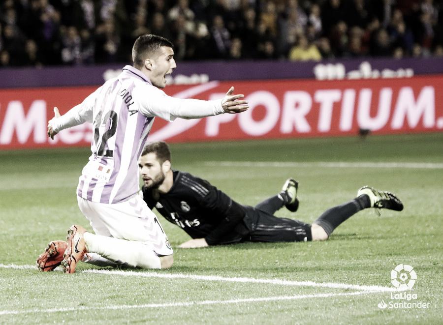 Los fallos en ambas áreas condenan al Real Valladolid
