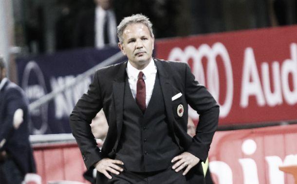 "Milan, Mihajlovic è ottimista: ""Siamo sulla strada giusta"""