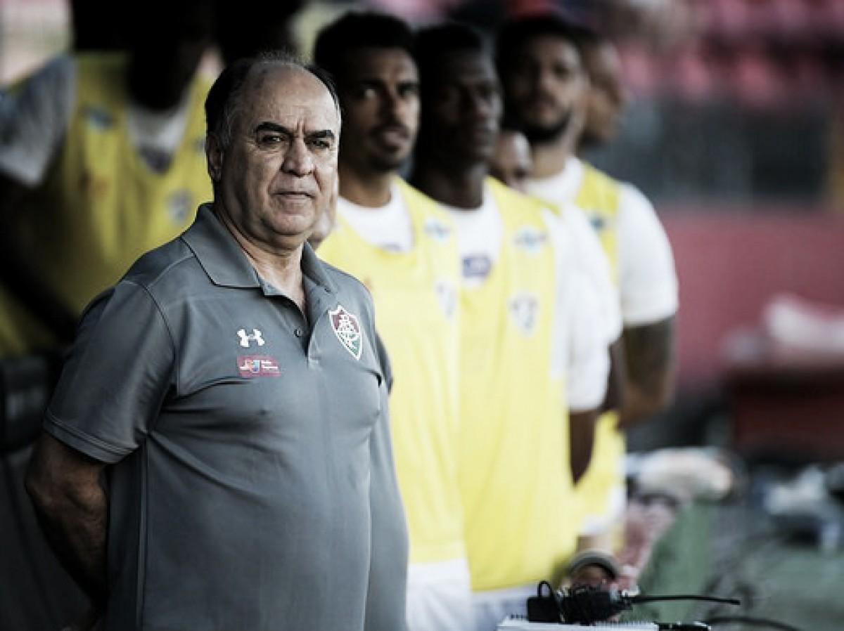 Marcelo Oliveira avalia primeira vitória no comando do Flu: ''Precisamos ser mais constantes''