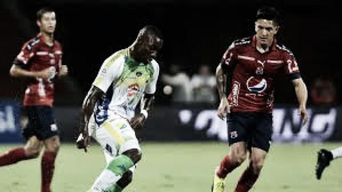 Atlético Huila y DIM no se hicieron daño en su debut