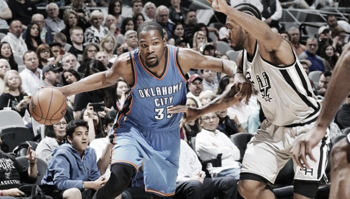 NBA Playoffs 2016, Spurs-Thunder: el miedo viene de regalo