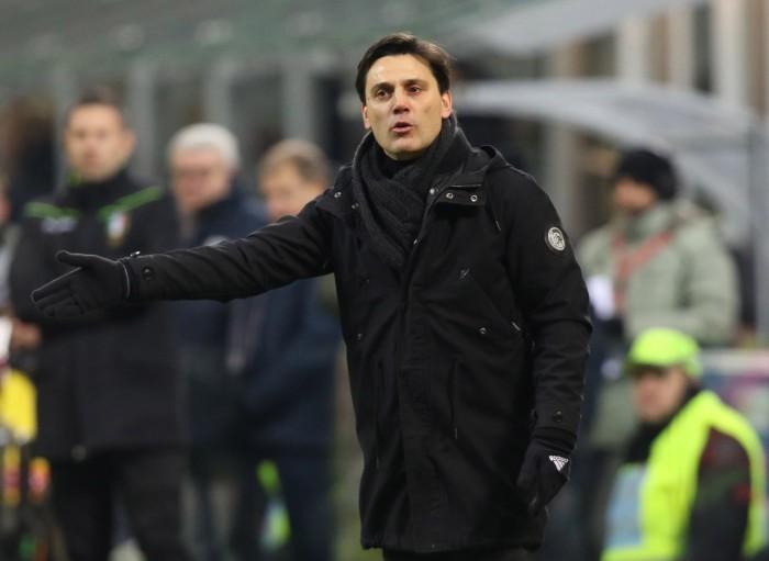 """Milan-Real Betis, Montella dichiara: """"Sensazioni positive, la squadra è più compatta"""""""