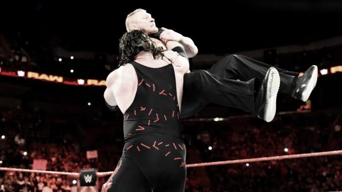 Kane manda un mensaje a Lesnar