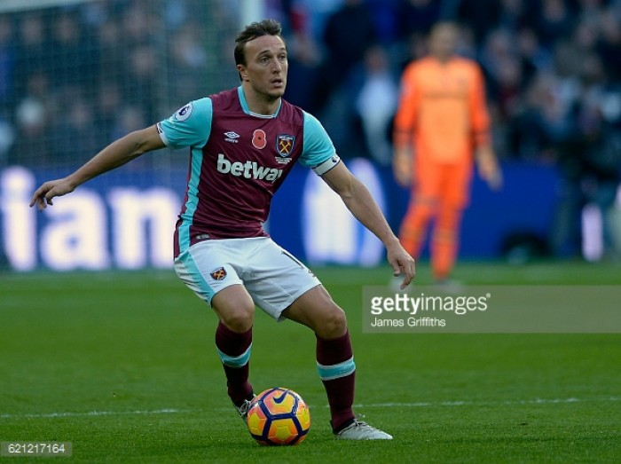 Mark Noble shares his frustration after Stoke stalemate