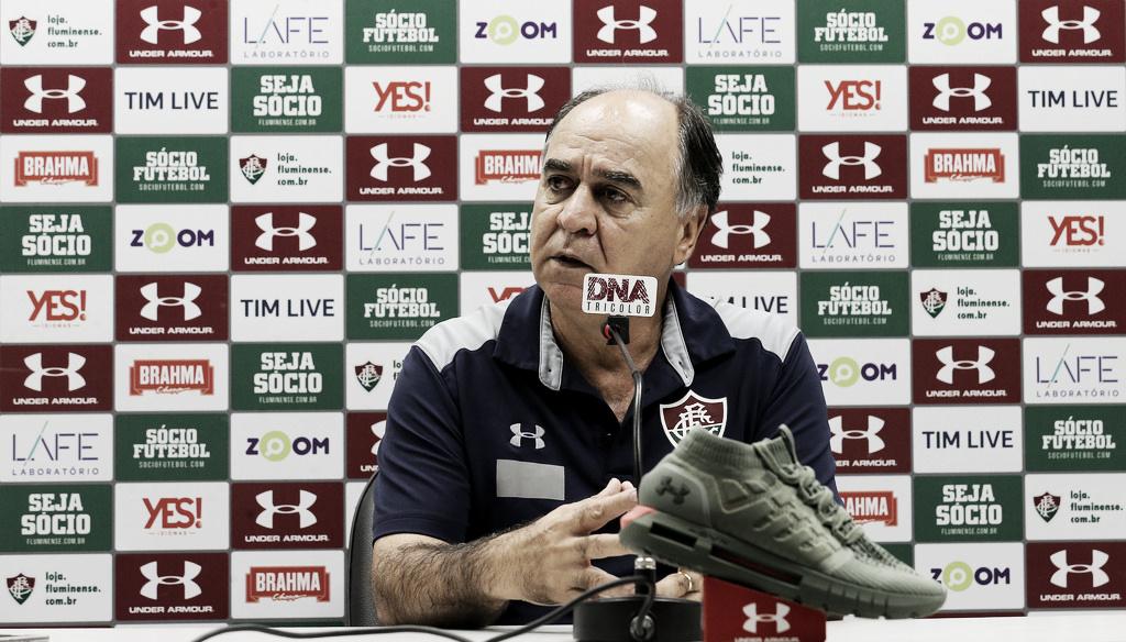 Marcelo Oliveira aprova atuações de Calazans e Daniel em goleada do Fluminense sobre o Paraná