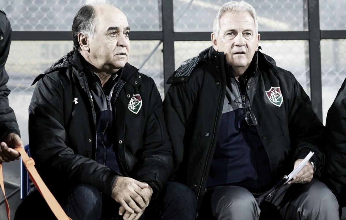 Marcelo Oliveira explica mudança de esquema e valoriza classificação do Fluminense na Sul-Americana