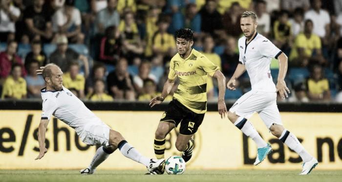 Borussia Dortmund volta a decepcionar e sofre revés diante da Atalanta