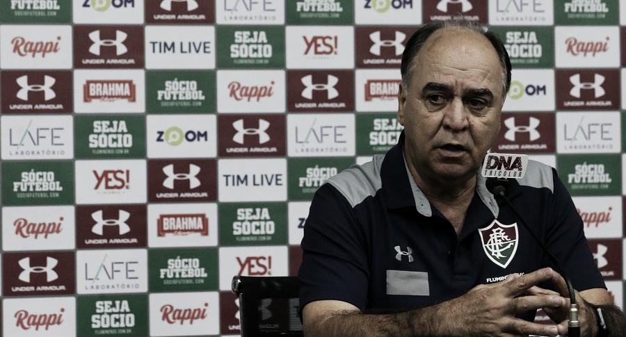 Marcelo Oliveira reconhece gosto amargo do empate, mas acredita na recuperação do Flu no Uruguai