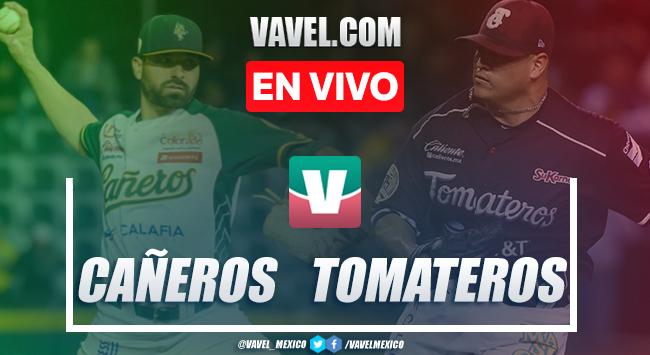 Resumen y carreras: Tomateros de Culiacán (4-0) Cañeros de Los Mochis en Juego 3 LMP Semifinal 2020