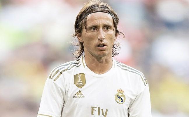 Luka Modric, duda ante el Mallorca