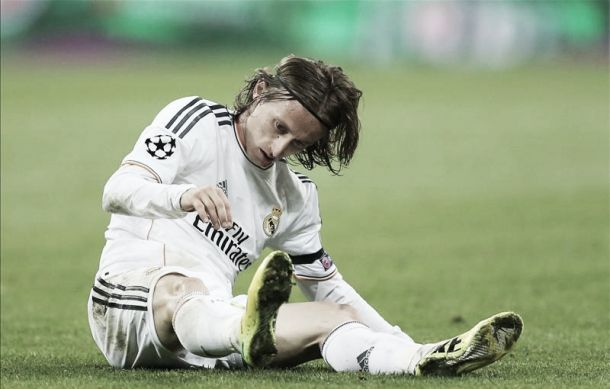 Luka Modrić ruled out for season with knee injury