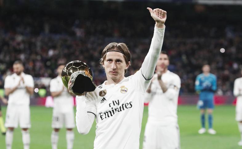 Modric y el Real Madrid, nominados para los premios Laureus