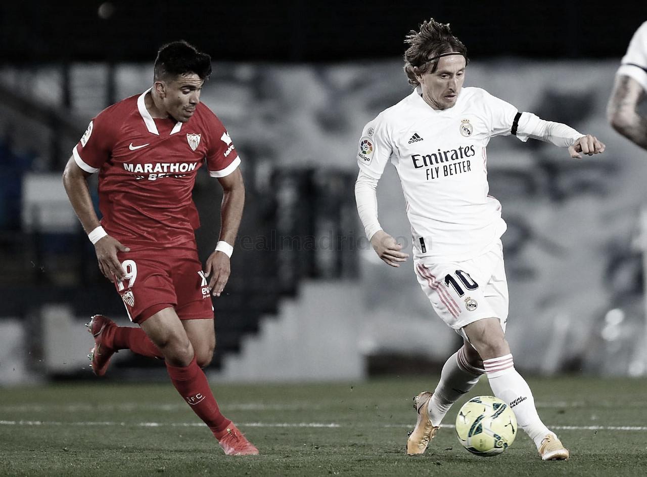 """Luka Modric: """"Si ha pitado el penalti es porque lo ha visto"""""""