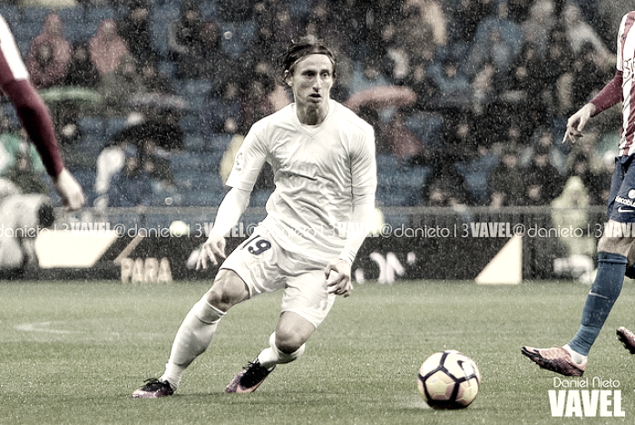 Modric sufre la segunda expulsión de su carrera