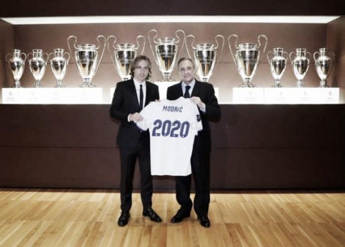 """Com contrato renovado até 2020, Modric mostra confiança: """"Sabia que triunfaria"""""""