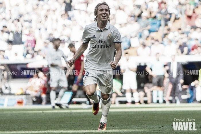 Modric anotó gol… 500 días después